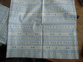 Servet 46- Baby blauw