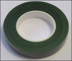 Bloemmisten tape  12 mm groen