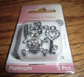 Charms w/ Strass- Treasure
