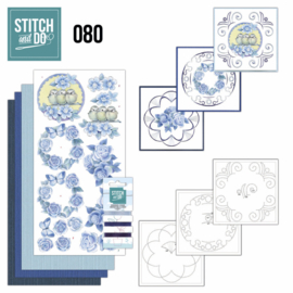 Stitch and do 080 Vintage Bloemen