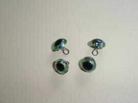 Glasogen, aannaaibaar, 11 mm, groen