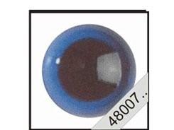Veiligheidsogen, gekleurd 6 mm prijs is per paar