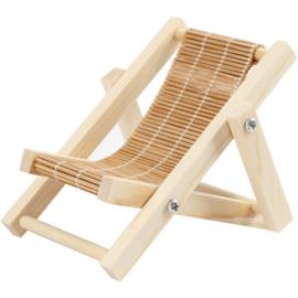Strandstoel, L.9,5  x B 7,5cm