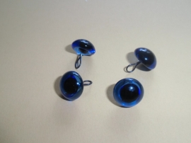 Glasogen, aannaaibaar, 11 mm, blauw