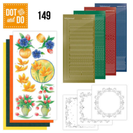Dots en Do -149 -bouquet of flowers