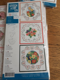 Stitch and Do 125 A Spring flower