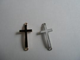 Kruis, tussenzetsel epoxy wit of zwart