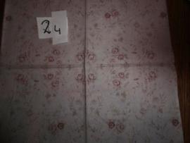 Servet 24-roosjes