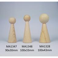 kegelpopje lang 100 x 33 mm