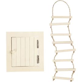 Zolderluikje en laddertje