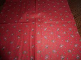 Servet 39- roosjes romantiek rood.