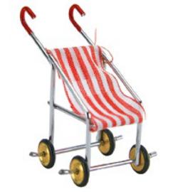 buggy wandelwagen, miniatuur ca. 5 cm. Stafil 3392-671
