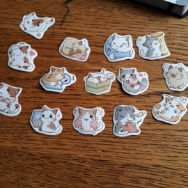 poes, stickers mix