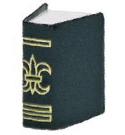 Boek  2 x 3 cm .Miniatuur ...Marianne Hobby  3392-011