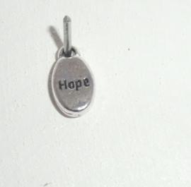 """tekst """"hope"""", Ovaal"""