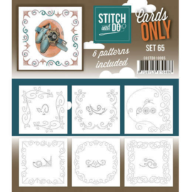 Stitch and Do , Cards Only set 65- 66 of 67