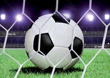 Voetbal Bal behang XXL