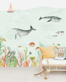 Creative Lab Amsterdam mural Sealife Coral