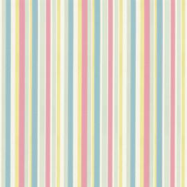 Little Greene behang Tailor Stripe - Pastel