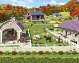 Walltastic 41738 Horse&Pony Stables NIEUW