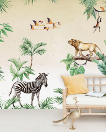Creative Lab Amsterdam mural King of the Jungle