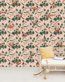 Creative Lab Amsterdam mural Floral Pheasant
