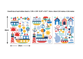 Walltastic 44845 Wall stickers Nautical