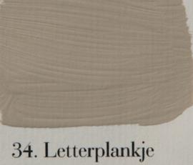 L'Authentique 34 Letterplankje