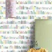 IK2003 Huisjes pastel