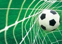 Voetbal Goal behang XXL