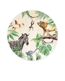 Creative Lab Amsterdam behangcirkel King of the Jungle
