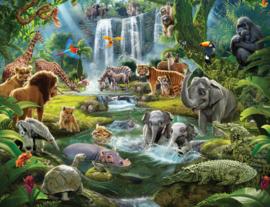 Walltastic 46481 Jungle Adventure