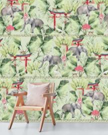 Creative Lab Amsterdam mural Ritual Elephant