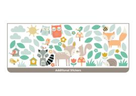 Walltastic 44647 XL stickers Woodland Tree & Friends