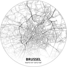 Noordwand City Circles 145 cm Brussel