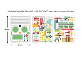 Walltastic 44869 Wall stickers Transport
