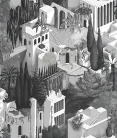 Rebel Walls behang Oddity Toledo - Graphite