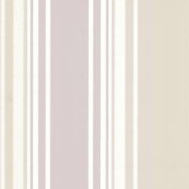 Little Greene behang Tented Stripe - Dawn