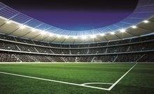 Voetbal Stadion Corner behang XXL