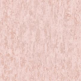 Dutch Wallcoverings Utopia behang Distressed Metallic Pink 91211