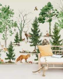 Creative Lab Amsterdam mural Forest Life