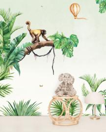 Creative Lab Amsterdam mural Jungle Monkey