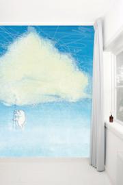 KEK Amsterdam fotobehang kinderen Klim in de wolken