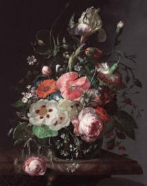 KEK Amsterdam Golden Age Flowers Wallpaper Panel PA-005