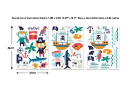 Walltastic 45002 Wall stickers Pirates