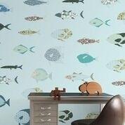 IK2105 Vissen lichtblauw
