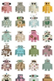 Studio Ditte Robot behang