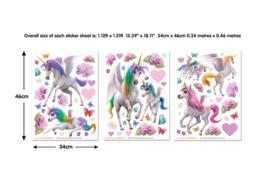 Walltastic 45989 Wall stickers Magical Unicorn