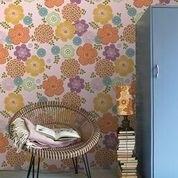 IK2054 Vintage Bloem roze