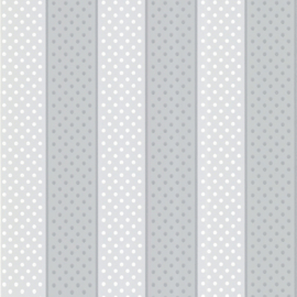 Little Greene behang Paint Spot - Snowball
